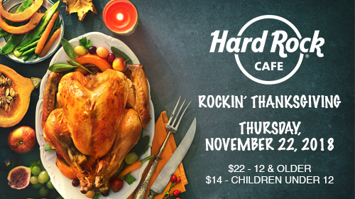 Hard Rock Thanksgiving