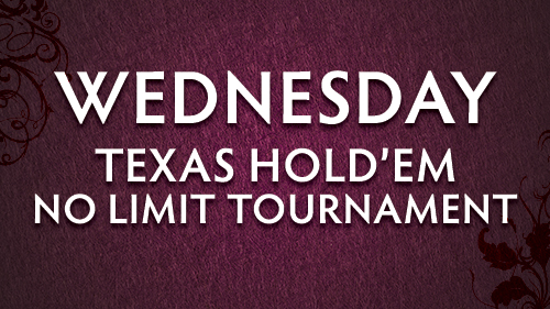 Wed Poker Tourney