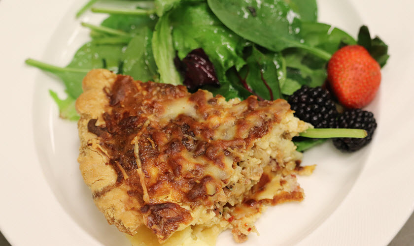 Quiche Lorraine Recipe on Cooking Creations